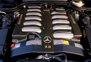 Mercedes car engine